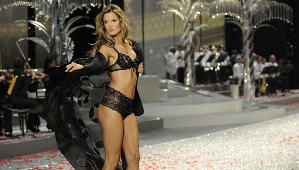 Alessandra Ambrosio is a veteran of the show.