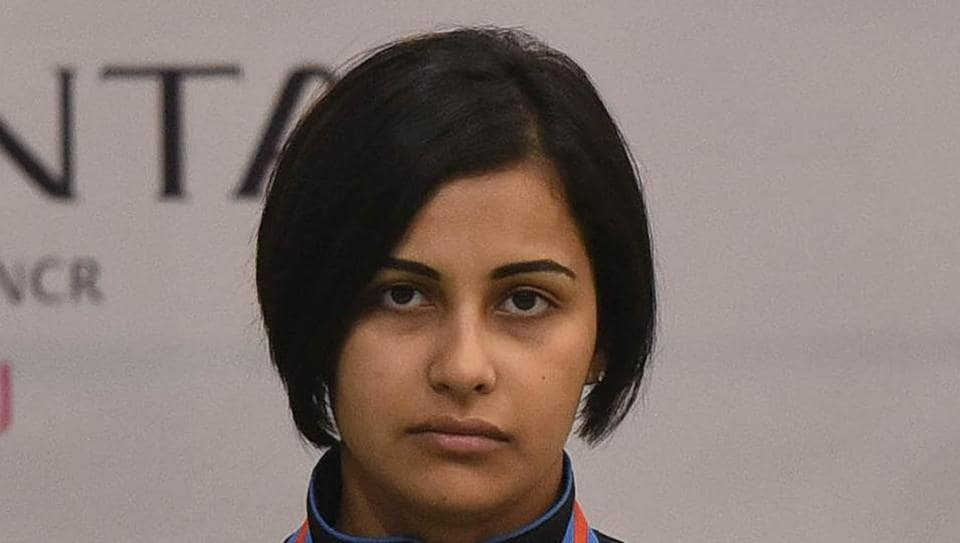 Heena Sidhu last month won gold medal at the ISSF World Cup Finals .