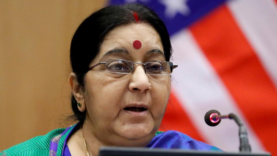 Sushma Swaraj,Milan,Indians attacked