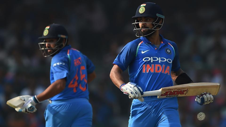 Virat Kohli (R) and Rohit Sharma scored a ton each in the third India vs New Zealand cricket ODI.