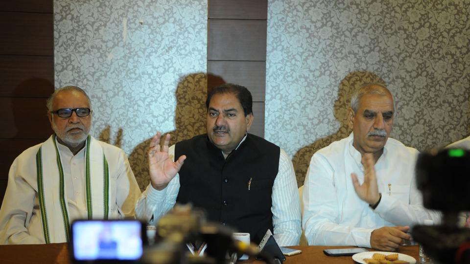 INLD,Congress,BJP