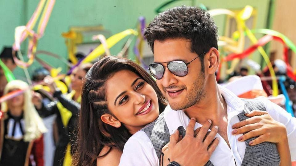 Mahesh Babu and Rakul Preet in a still from AR Murugadoss' Spyder.