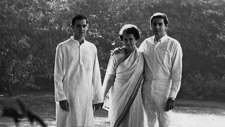 Prime Minister Indira Gandhi with her sons Rajiv and Sanjay, in the lawns of their Delhi residency in 1967. Known for her controversial legacy in Indian politics and absolute centralization of power, she grew into a political figure despised by many, eventually leading to her assassination by her Sikh bodyguards on October 31, 1984. Till date, she remains the only woman to helm the role of  India's Prime Minister. (Terry Fincher / Getty Images)