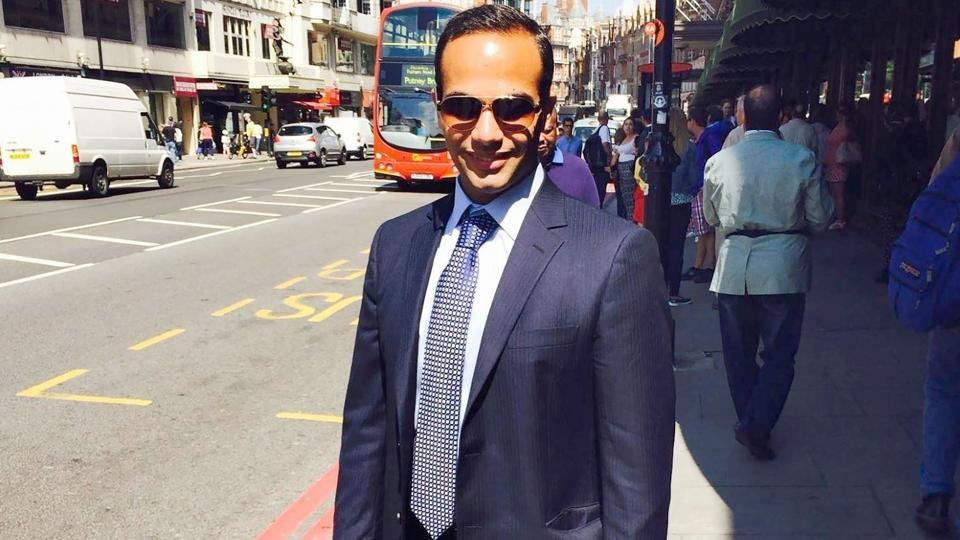 This undated image posted on his Linkedin profile shows George Papadopoulos posing on a street of London. Former Trump campaign aide Papadopoulos pleaded guilty to lying to the FBI about his Kremlin-related contacts, and more specifically on a Moscow-linked professor who was offering
