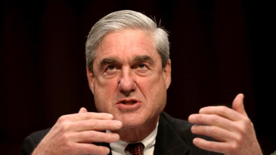 Robert Mueller testifies at a Senate Intelligence Committee hearing on Capitol Hill in Washington, US.
