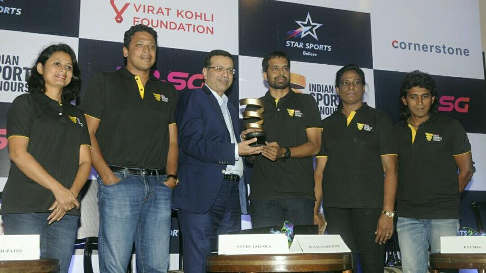 Some of the biggest names of Indian sports will decide the names of the winners.
