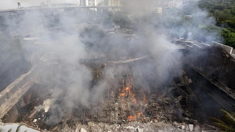A major fire that gutted one of the stages at RKStudios, Chembur, was due to a short circuit.