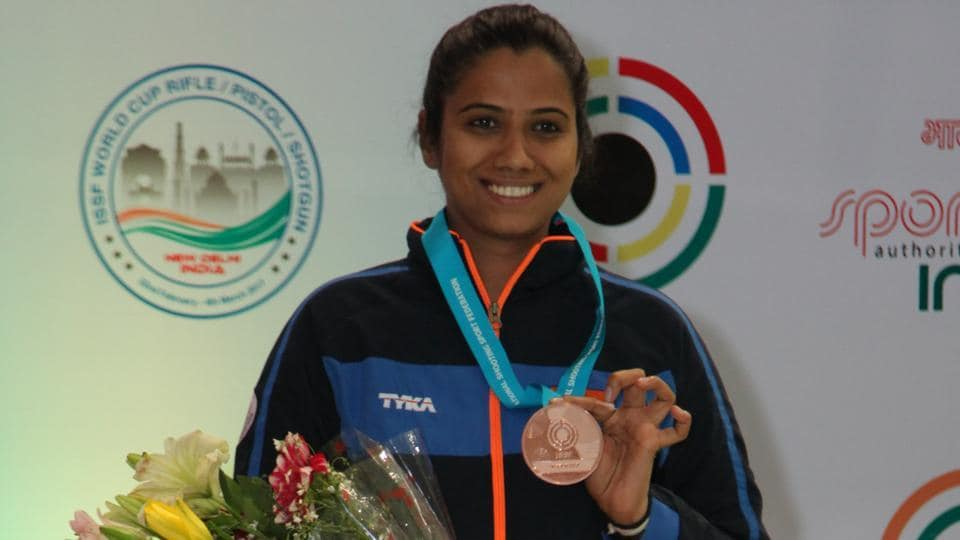 India continue to have a great day in the Commonwealth Shooting Championship as Shahzar Rizvi and Pooja Ghatkar  secured wins in the 10m air pistol and 10m air rifle event respectively.