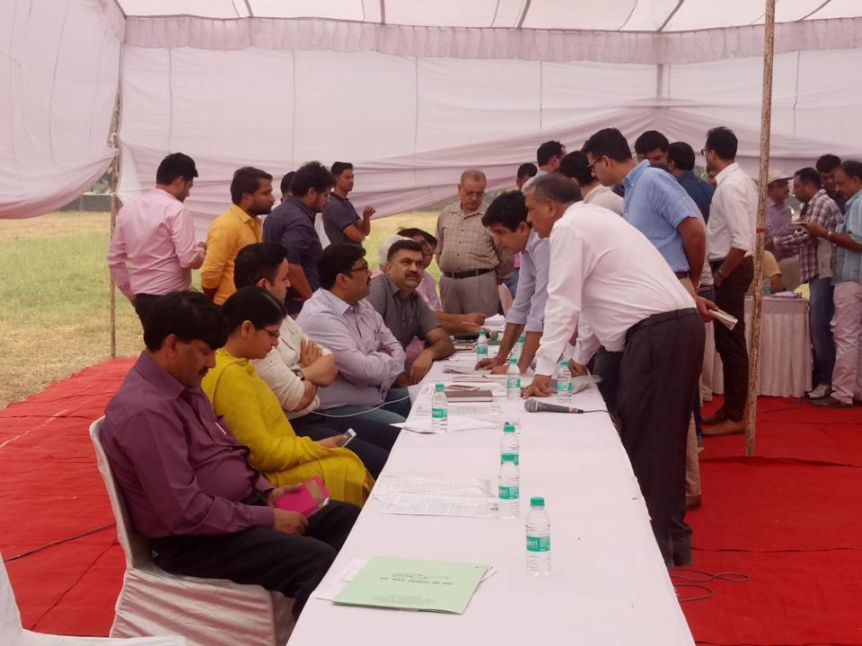mcg property auction,property tax defaulters,gurgaon news