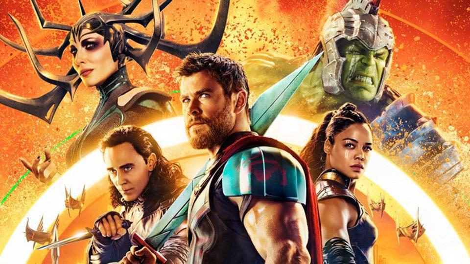 Chris Hemsworth plays Thor, alongside Cate Blanchett, Mark Ruffalo , Tom Hiddleston and Idris Elba, among others.