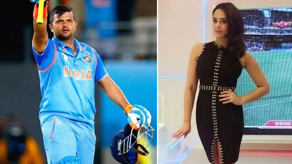 Mayanti Langer's question to Suresh Raina on Twitter has lit up the social media.