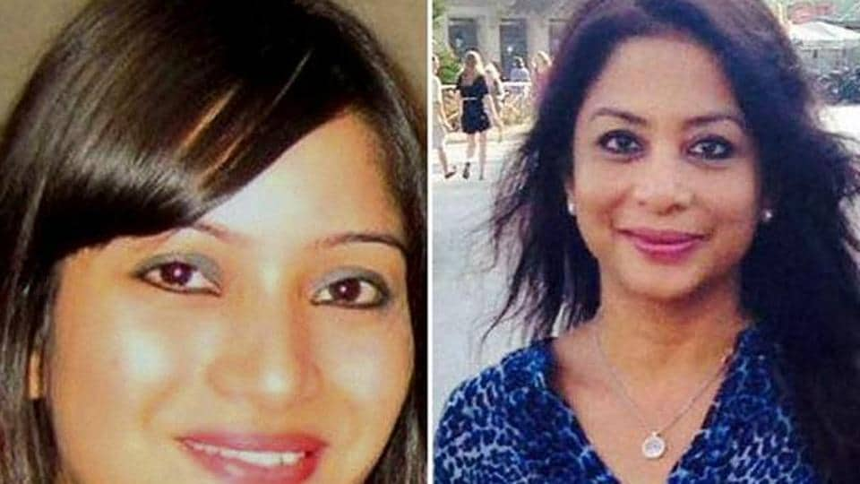 Sheena Bora (left)was allegedly murdered by her mother Indrani Mukerjea with the help of her driver and ex-husband Sanjeev Khanna.