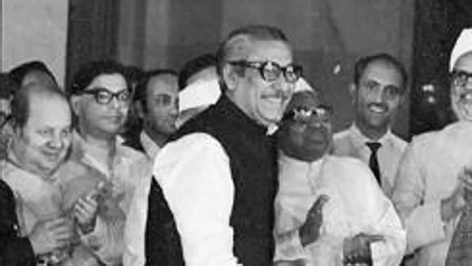 File photo of Bangladeshi leader Sheikh Mujibur Rahman, who is considered the Father of the Nation.