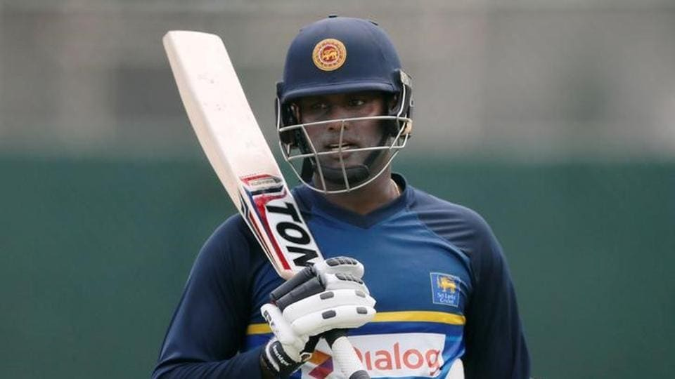 Sri Lanka's Angelo Mathews has been declared fit ahead of the India tour.