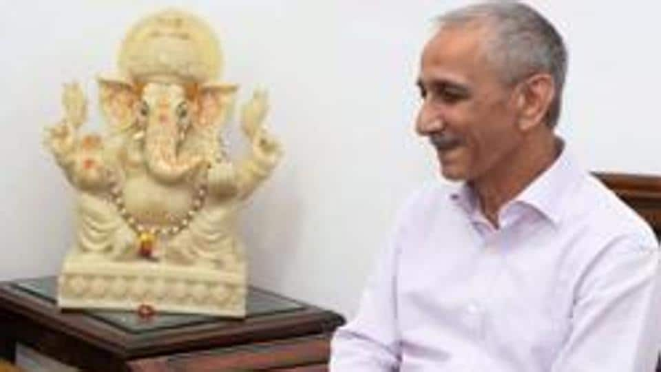 Dineshwar Sharma, former chief of the Intelligence Bureau, who was recently appointed as the Centre's representative for talks in Kashmir.
