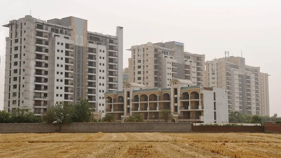 Apartments under construction in Ludhiana. The West Bengal government has approved a cheap housing scheme that will help shanty dwellers. (HT file photo / Representative)