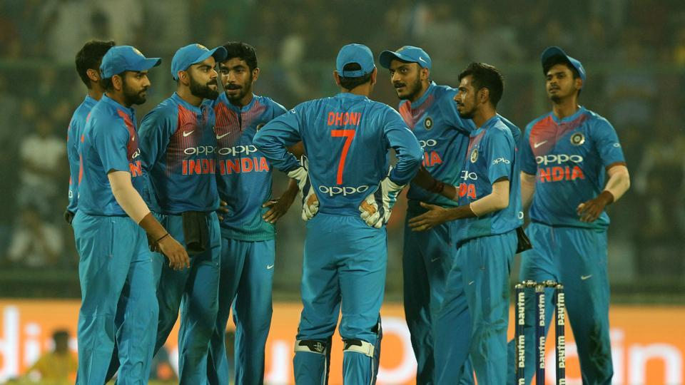 Virat Kohli's Indian cricket team broke the Twenty20 jinx against New Zealand as they registered their first win against the Blackcaps by winning the Twenty20 International at the Feroz Shah Kotla by 53 runs to give Ashish Nehra a fitting farewell.  (BCCI)