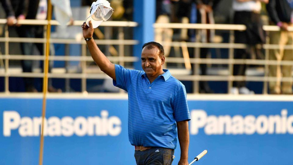 Mukesh Kumar heads the winner's list of the Professional Golf Tour of India.