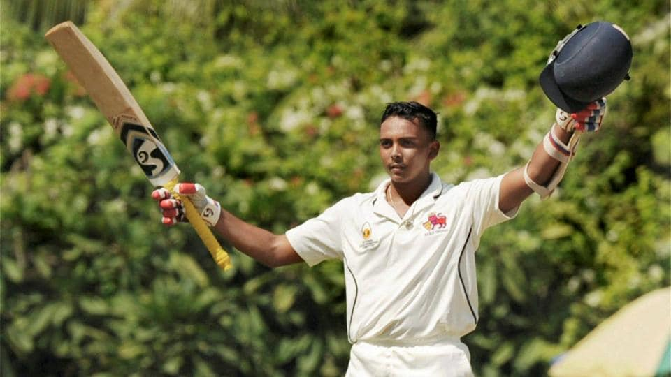 Prithvi Shaw slams ton as Mumbai makes 264 for 6 vs Odisha
