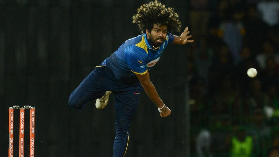 Sri Lankan cricketer Lasith Malinga tried his hand at spin at a local match.