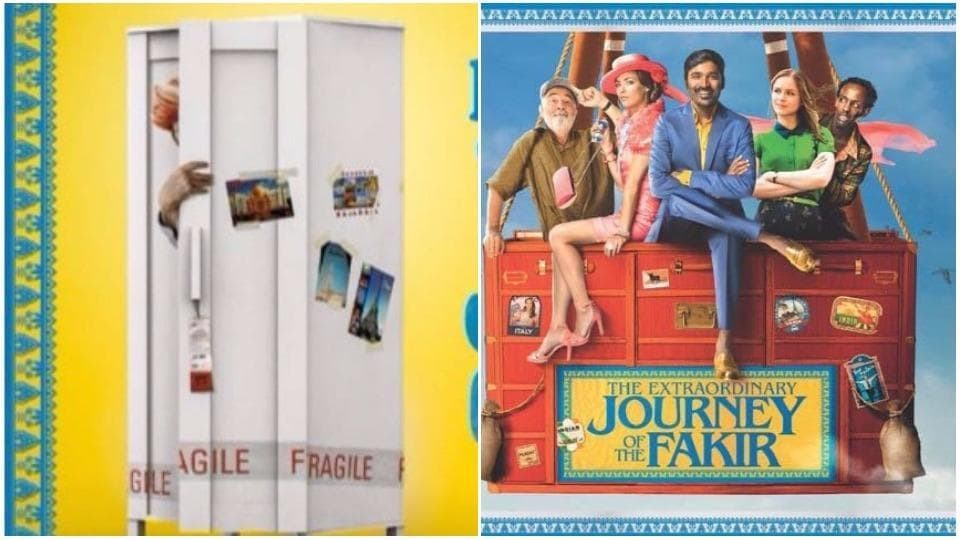 Dhanush,The Extraordinary Journey of the Fakir,The Extraordinary Journey of the Fakir poster