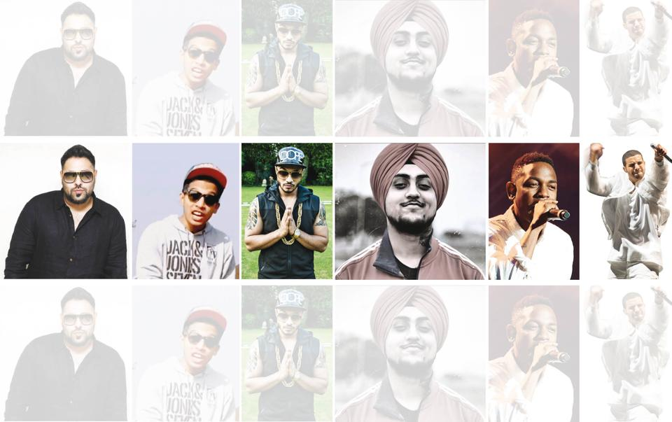 Badshah lists out his favourite rappers.