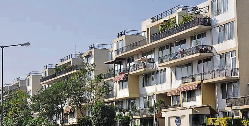 The said housing society is an upend society with luxury apartments in it. There are a total of 187 four-bedroom flats in it. Each of them costed ₹3 crore in 2010.