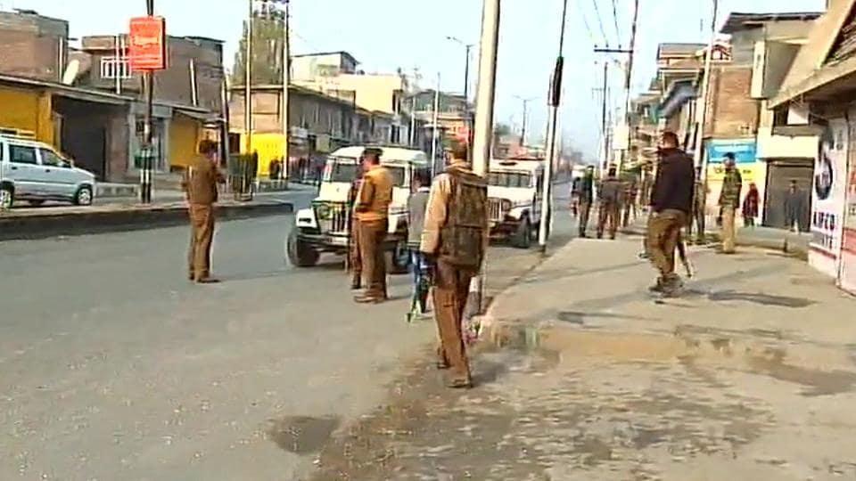 CRPF,CRPF convoy attacked,Kashmir
