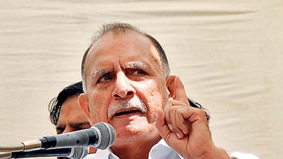 Rajasthan BJP president Ashok Parnami.