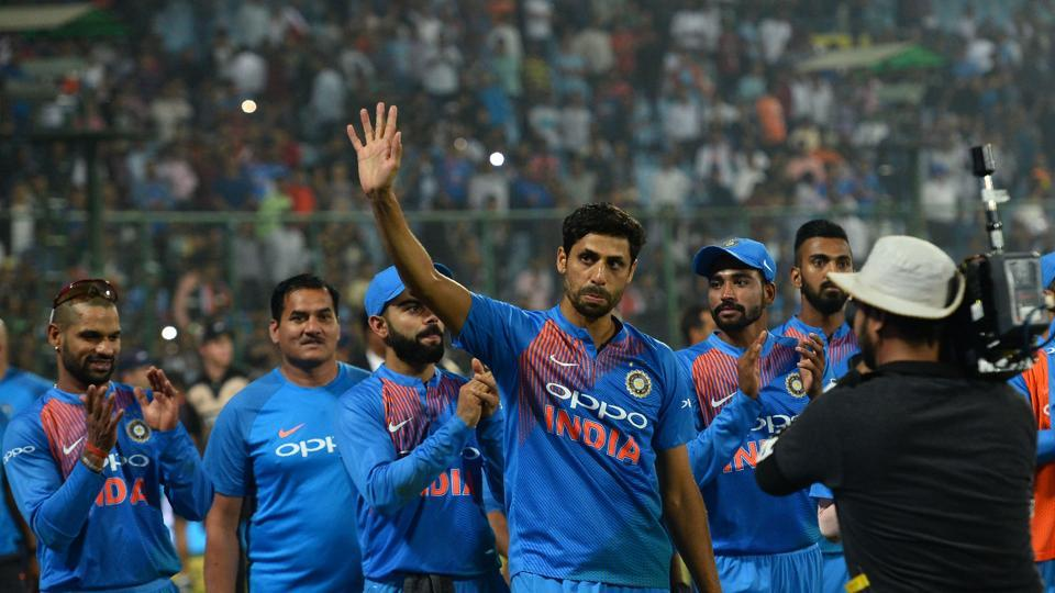 Ashish Nehra, who made his international debut in 1999, has bowed out of cricket after almost 20 years of playing.  (AFP)
