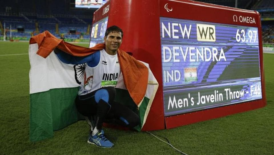 Devendra Jhajharia is aiming to be fit enough to play in the Paralympic Games in 2020.