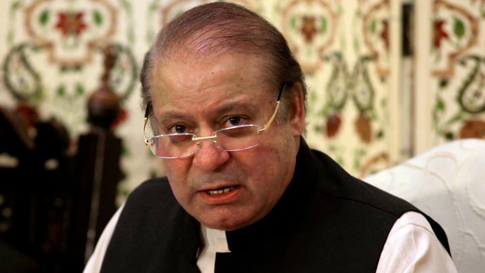 Former Pakistani prime minister Nawaz Sharif in Islamabad in September.