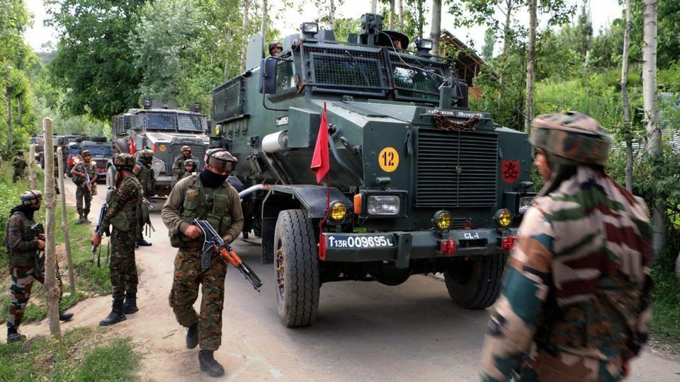 Army jawan,Militant,Encounter