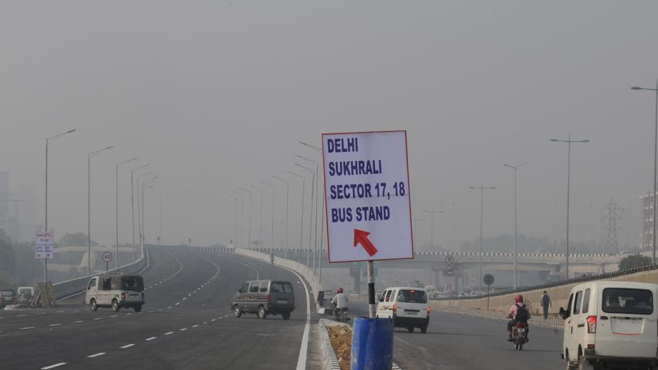 The elevated U-turn at Iffco Chowk was opened on Wednesday.