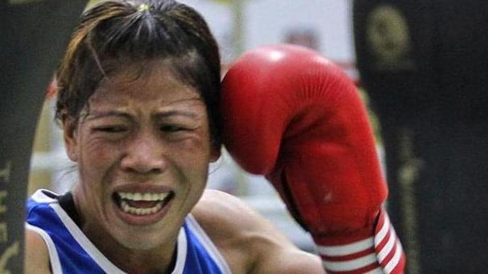 Mary Kom reached the quarterfinals of the ongoing Asian Boxing Championships.