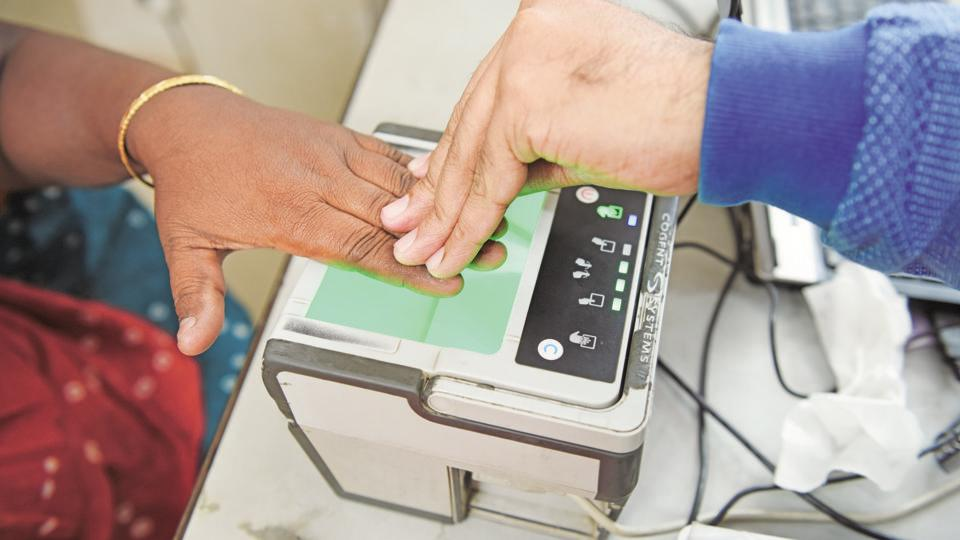 Police identified the victim using the thumb impression machine to authenticate her fingerprint.