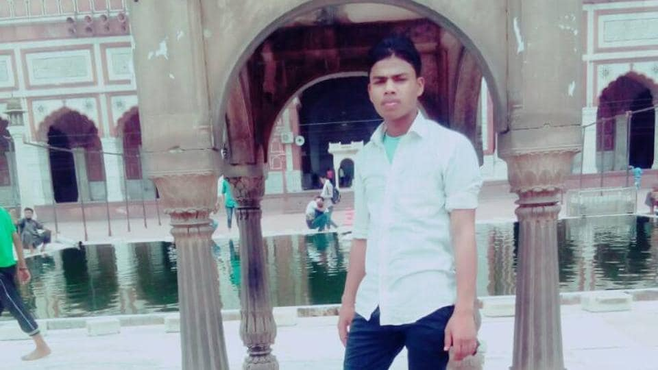 An image of Junaid Khan, who was stabbed to death on board a Mathura-bound train on June 22.