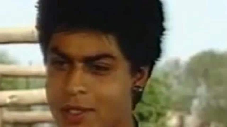 Shah Rukh Khan in a still from the short film, Mahaan Karz.