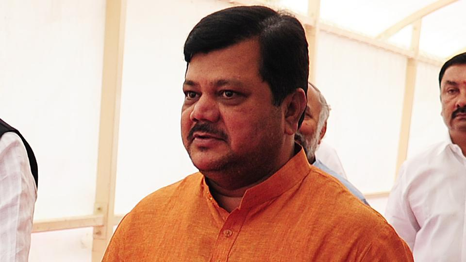BJPleader Pravin Darekar is chairman of the bank that has sanctioned  a loan to the firm under scanner in the irrigation scam.