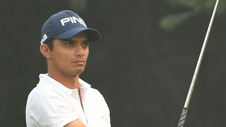 Ajeetesh Sandhu took the lead on the opening day of the Panasonic Open golf tournament ahead of Shiv Kapur.