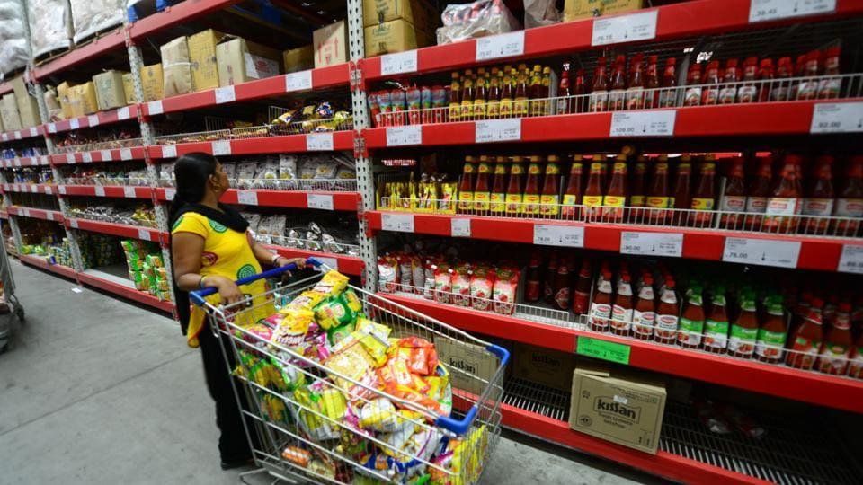 Sales volumes of consumer packaged goods have seen an increase. (HTfile photo)