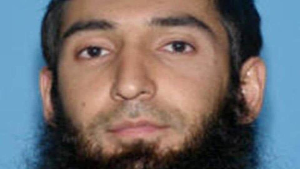 Sayfullo Saipov, the suspect in the New York City truck attack is seen in this undated handout photo obtained by Reuters.