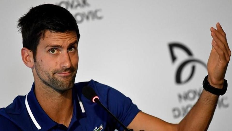 Novak Djokovic will soon find himself out of the ATP top 10 rankings.