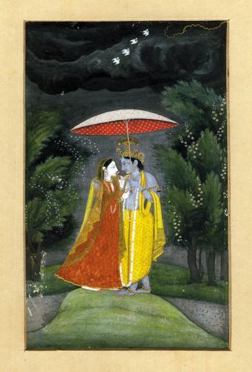 Skanda,Nicholas Roerich,Radha and Krishna