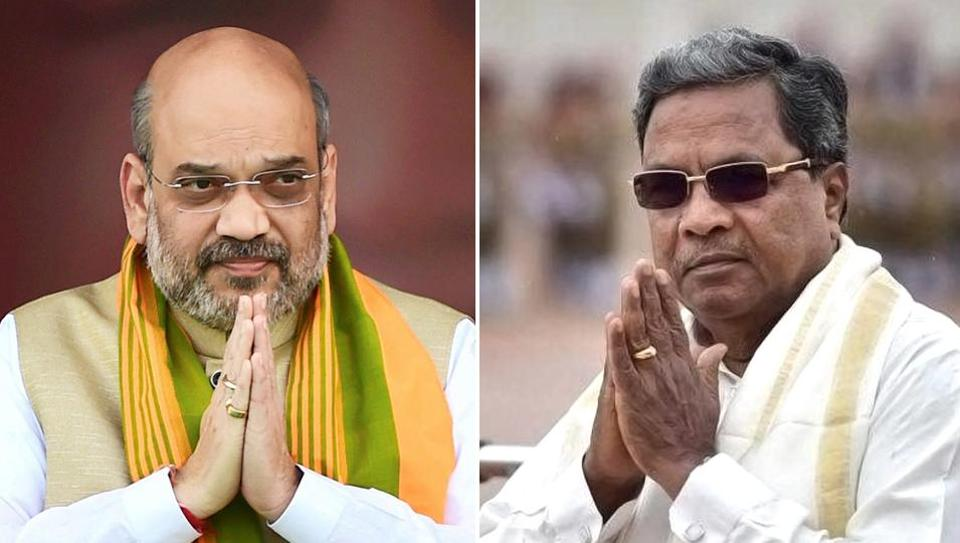 Karnataka CM has criticised BJP chief Amit Shah for attacking his government for celebrating Tipu Jayanti. (Agency photos)