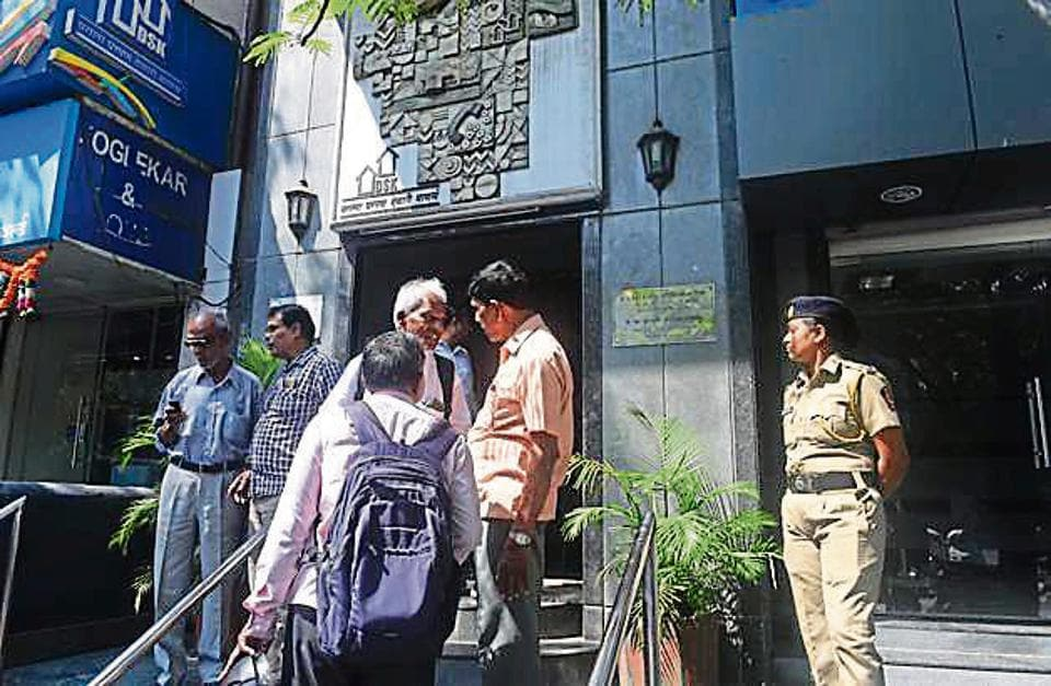 Investors who visited DSKDLhead office on JM road in Pune were clueless about the future of their investment in the firm.