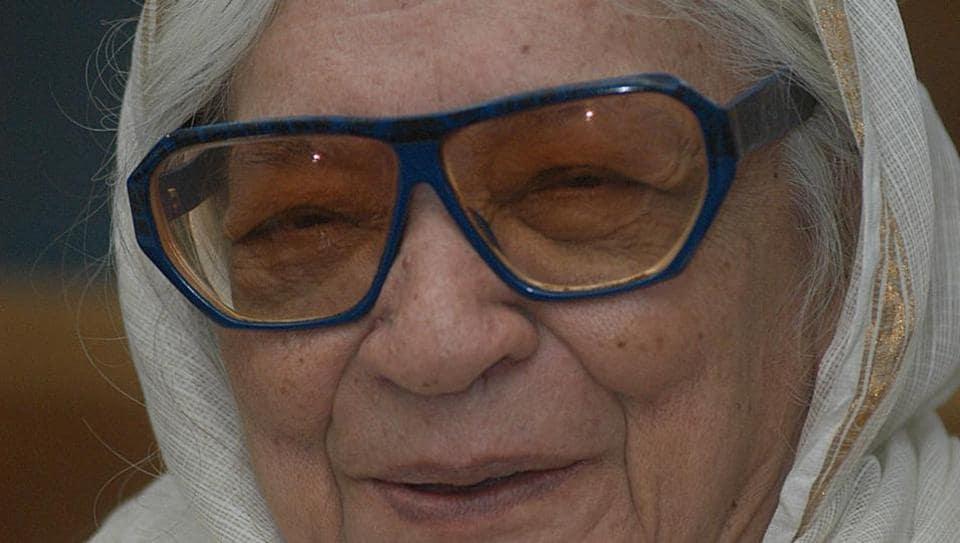 Krishna Sobti,Hindi writer Krishna Sobti,Jnanpith Award