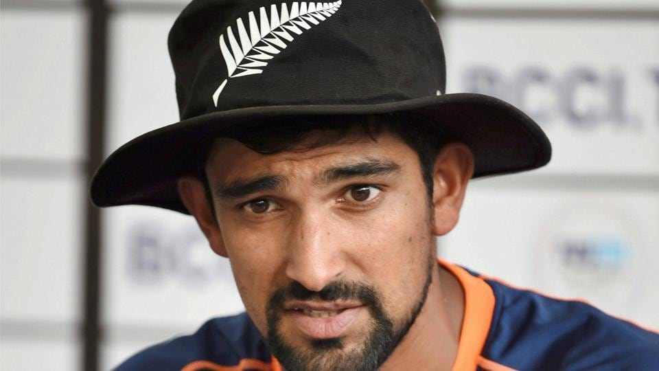 Ish Sodhi speaks to the press ahead of the second T20 against India in Rajkot on Friday.