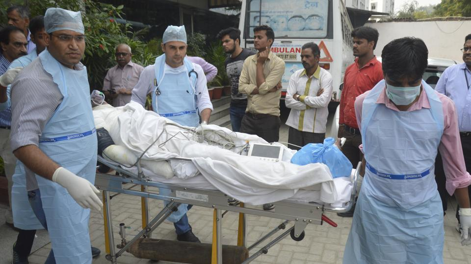 A probe team of the Uttar Pradesh labour department on Friday blamed gross negligence on the part of the NTPC for Wednesday's explosion in its  Unchahar plant. Over 30 people were killed in the blast.