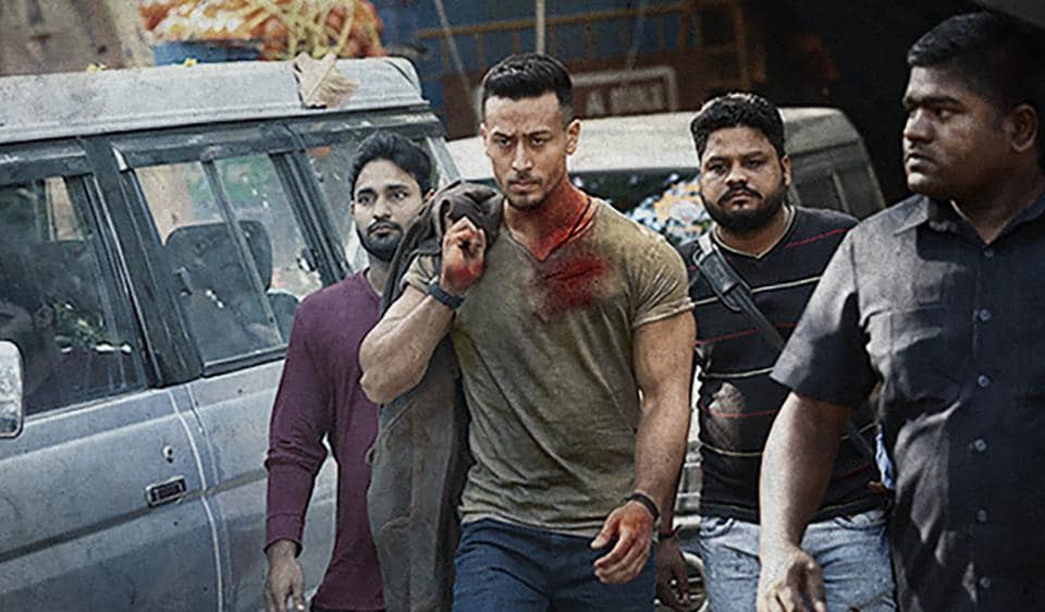 Tiger Shroff sports short hair and bloodied shirt